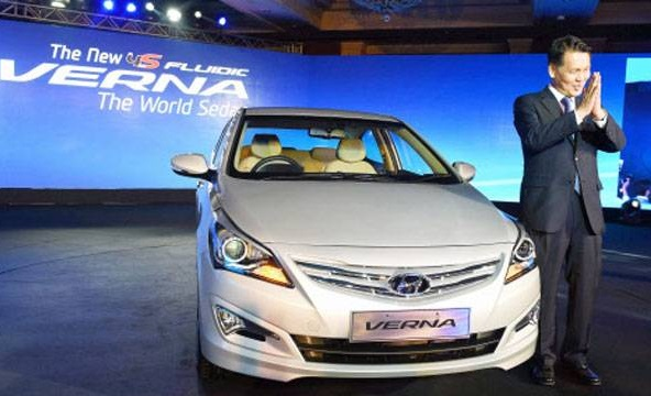 new modal of Verna | Hyundai | Price