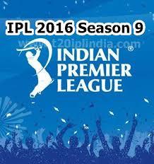 Indian Premier League Schedule – IPL 2016 |BCCI