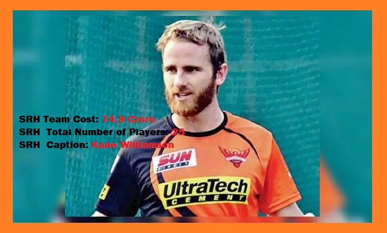 SRH Full Players List SUNRISERS HYDERABAD VIVO IPL 2020