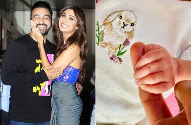 Shilpa Shetty And Husband Raj Kundra's Baby Girl